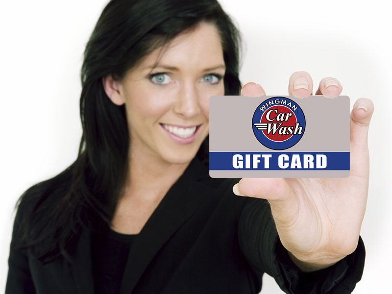 Wingman Car Wash Gift Cards